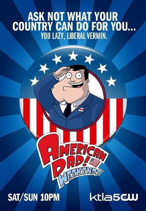 """American Dad!"" - Movie Poster (thumbnail)"