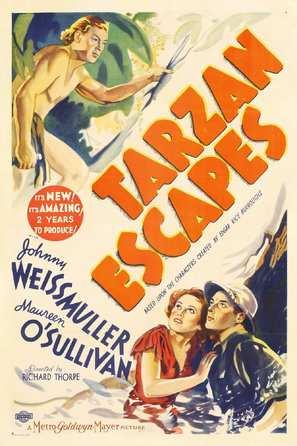 Tarzan Escapes - Movie Poster (thumbnail)