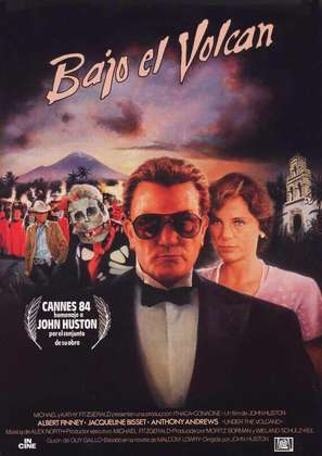 Under the Volcano - Spanish Movie Poster (thumbnail)