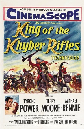 King of the Khyber Rifles - Movie Poster (thumbnail)
