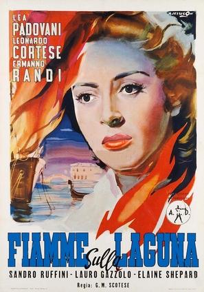Fiamme sulla laguna - Italian Movie Poster (thumbnail)