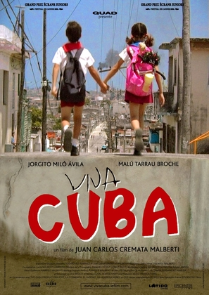 Viva Cuba - French Movie Poster (thumbnail)