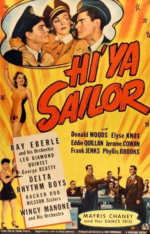 Hi'ya, Sailor - Movie Poster (thumbnail)