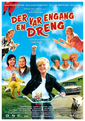 Der var engang en dreng - Danish Movie Poster (thumbnail)