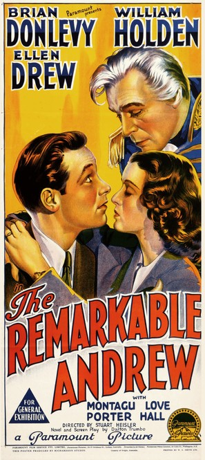 The Remarkable Andrew - Australian Movie Poster (thumbnail)
