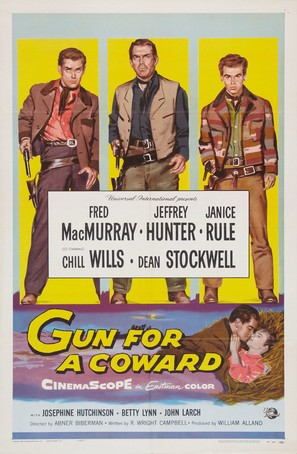 Gun for a Coward - Movie Poster (thumbnail)