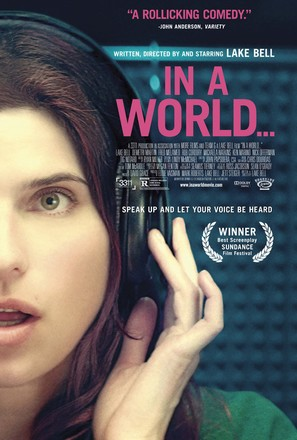 In a World... - Movie Poster (thumbnail)