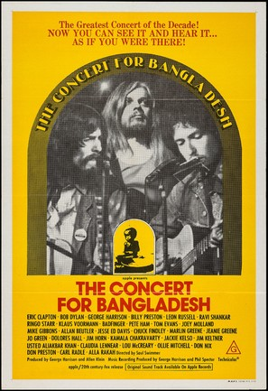 The Concert for Bangladesh - Movie Poster (thumbnail)