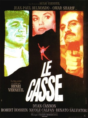 Le casse - French Movie Poster (thumbnail)