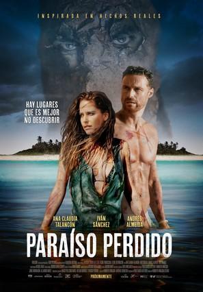 Paraiso Perdido - Mexican Movie Poster (thumbnail)