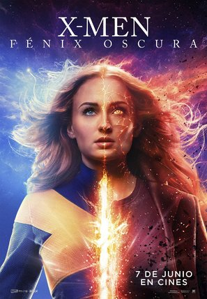Dark Phoenix - Spanish Movie Poster (thumbnail)
