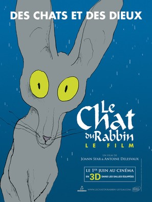 Le chat du rabbin - French Movie Poster (thumbnail)