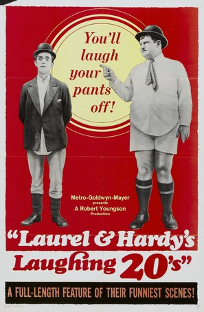 Laurel and Hardy's Laughing 20's - Movie Poster (thumbnail)