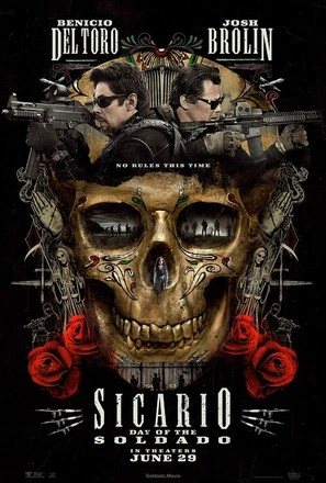 Sicario: Day of the Soldado - Movie Poster (thumbnail)