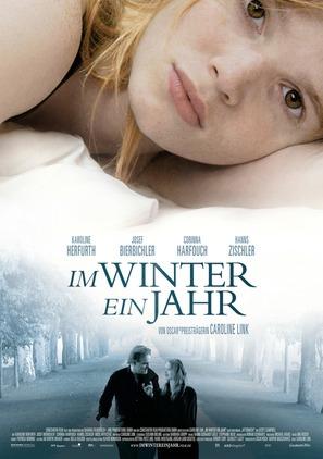 Im Winter ein Jahr - German Movie Poster (thumbnail)