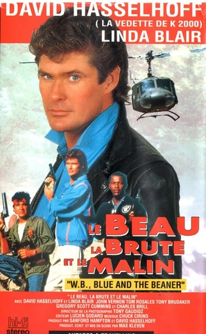 W.B., Blue and the Bean - French VHS cover (thumbnail)