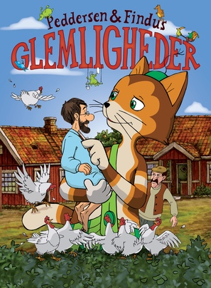 Pettson & Findus - Glömligheter - Danish Movie Poster (thumbnail)