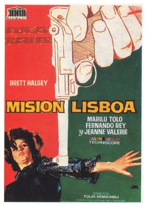 Misión Lisboa - Spanish Movie Poster (thumbnail)