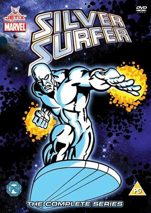 """Silver Surfer"" - British DVD cover (thumbnail)"