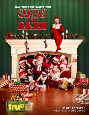 """Santas in the Barn"""