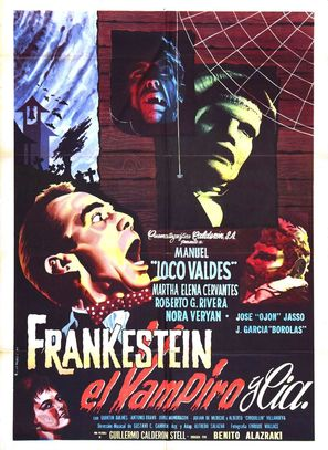 Frankestein el vampiro y compañía - Mexican Movie Poster (thumbnail)