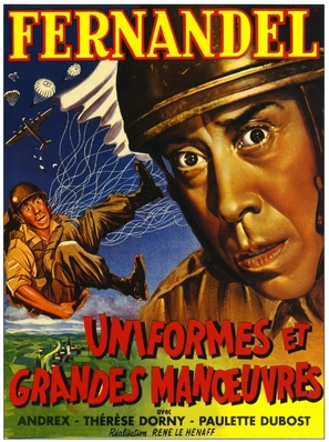 Uniformes et grandes manoeuvres - French Movie Poster (thumbnail)