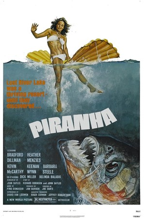 Piranha - Movie Poster (thumbnail)