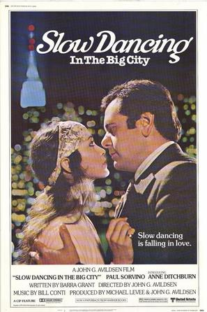 Slow Dancing in the Big City - Movie Poster (thumbnail)