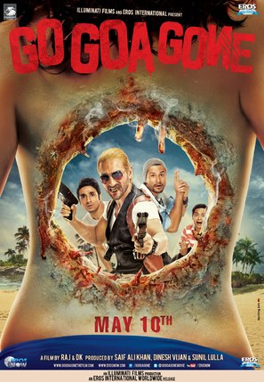 Go Goa Gone - Indian Movie Poster (thumbnail)