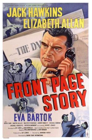 Front Page Story - British Movie Poster (thumbnail)
