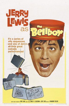 The Bellboy - Theatrical movie poster (thumbnail)