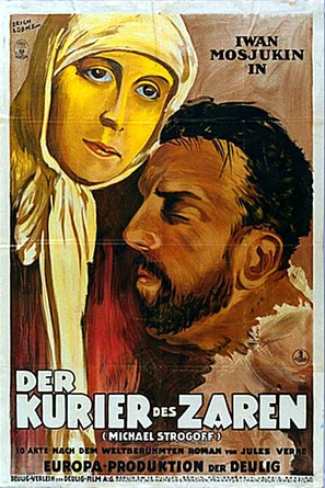 Michel Strogoff - German Movie Poster (thumbnail)