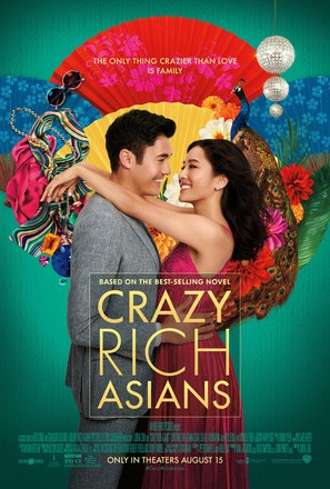 Crazy Rich Asians - Movie Poster (thumbnail)