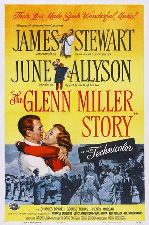 The Glenn Miller Story - Movie Poster (thumbnail)