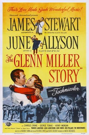 The Glenn Miller Story - Movie Poster (thumbnail)