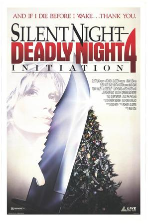 Initiation: Silent Night, Deadly Night 4 - DVD cover (thumbnail)
