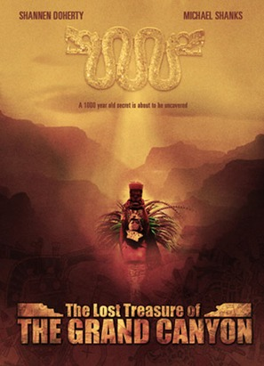The Lost Treasure of the Grand Canyon - Movie Poster (thumbnail)