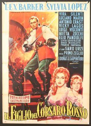 Il figlio del corsaro rosso - Italian Movie Poster (thumbnail)