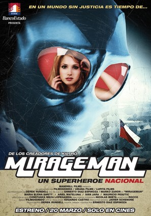 Mirageman - Chilean Movie Poster (thumbnail)