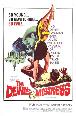 The Devil's Mistress - Movie Poster (thumbnail)