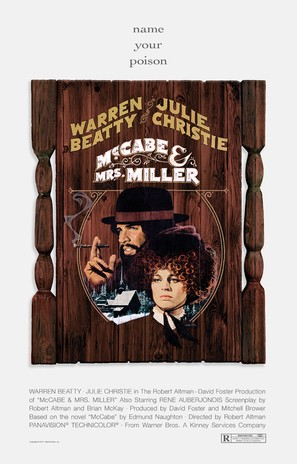 McCabe & Mrs. Miller - Movie Poster (thumbnail)