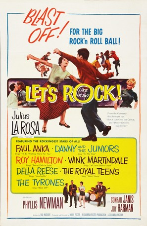 Let's Rock - Movie Poster (thumbnail)