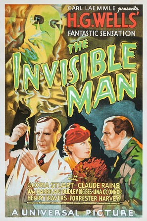 The Invisible Man - Movie Poster (thumbnail)