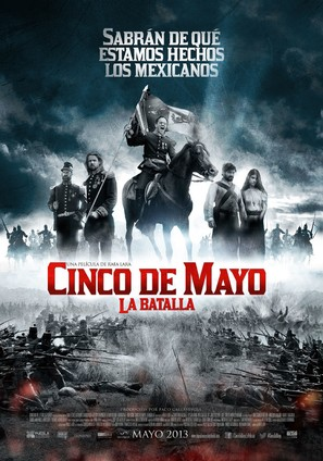 Cinco de Mayo: La batalla - Mexican Movie Poster (thumbnail)