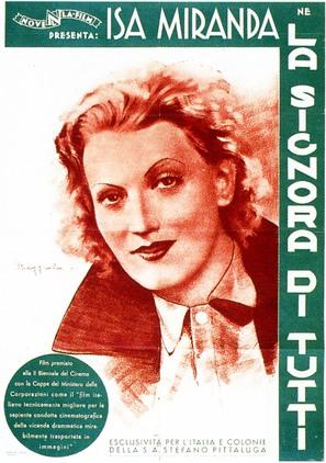 La signora di tutti - Italian Movie Poster (thumbnail)