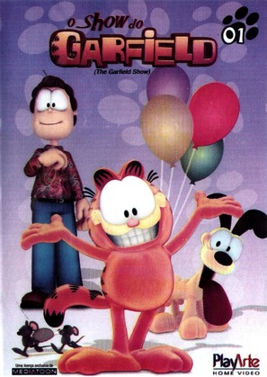 """The Garfield Show"" - Brazilian Movie Cover (thumbnail)"