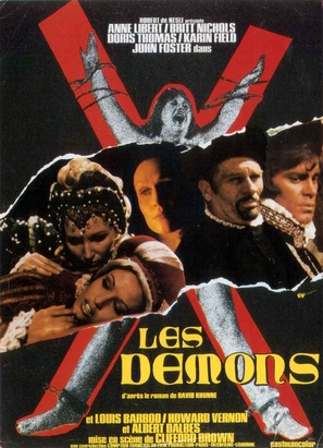 Les démons - French Theatrical poster (thumbnail)