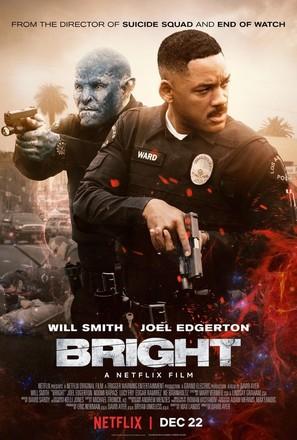 Bright - Movie Poster (thumbnail)