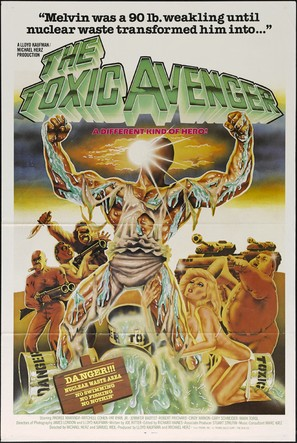 The Toxic Avenger - Movie Poster (thumbnail)