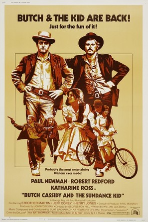 Butch Cassidy and the Sundance Kid - Movie Poster (thumbnail)